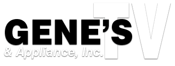 Gene's TV & Appliance Logo